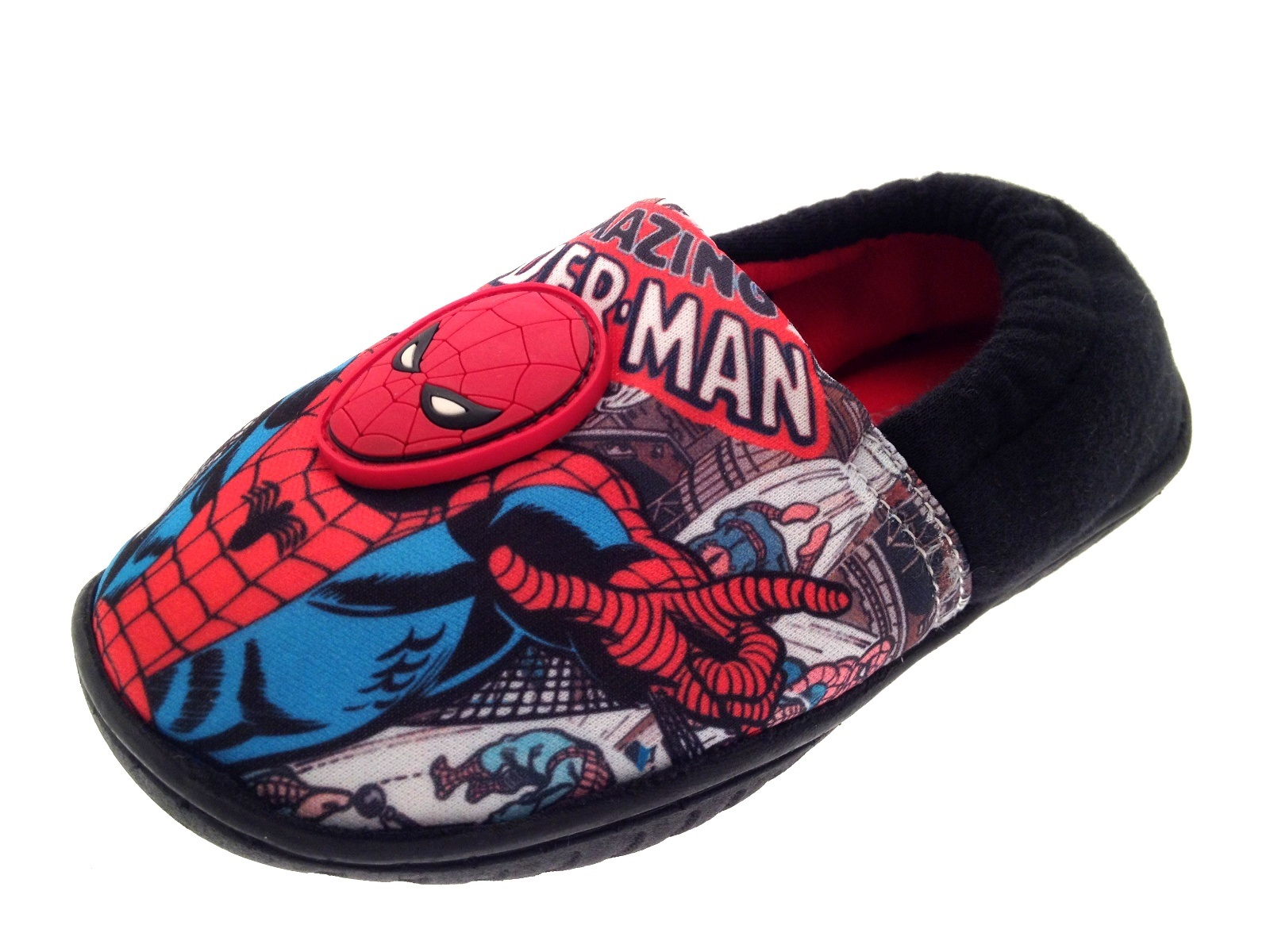 Kids Spiderman Velcro Shoes