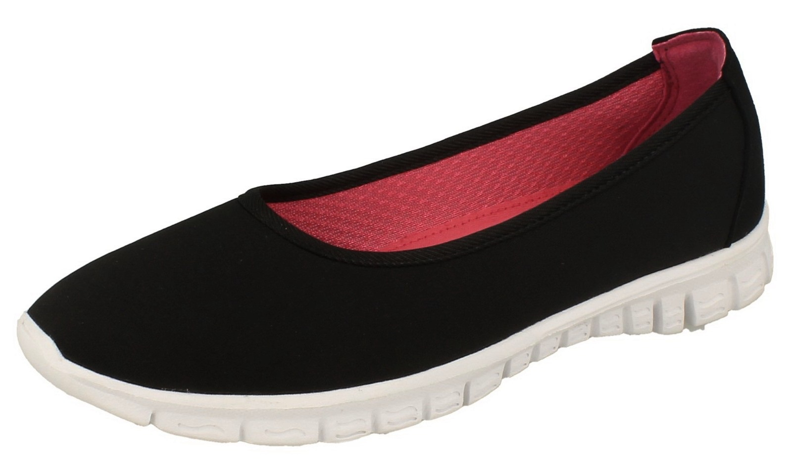 womens slip on lightweight trainers casual comfort walking