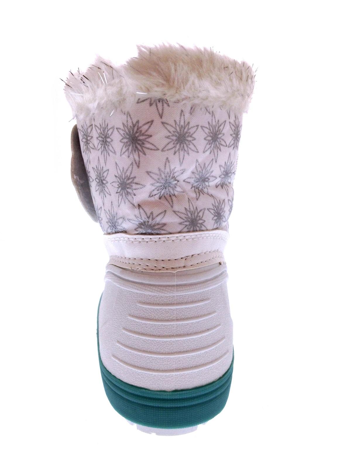 Kids Girls Disney Frozen Elsa Anna Snow Boots Waterproof Rain Wellies Size 7-13