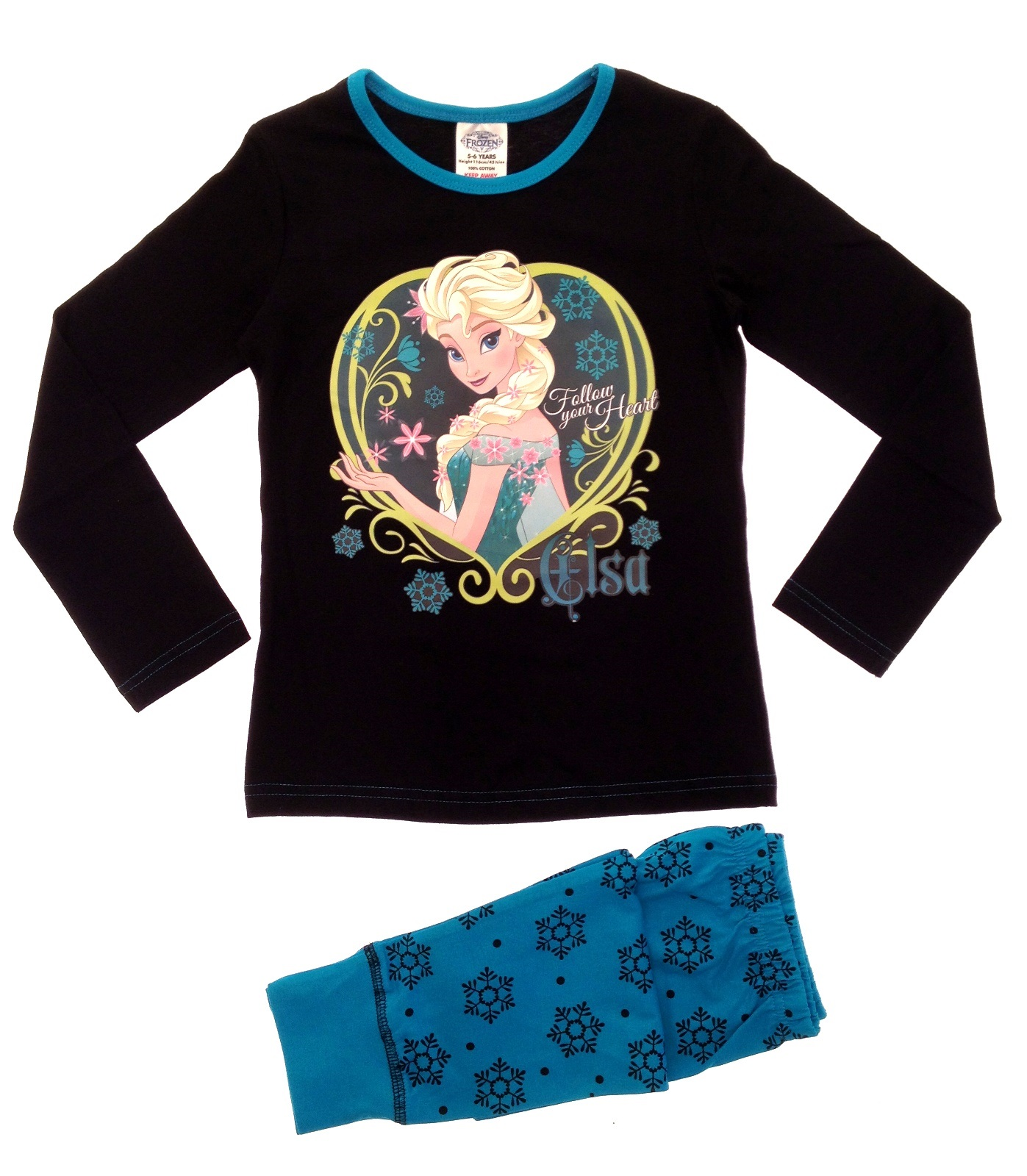 Disney Frozen Anna Elsa Long Sleeve Nightgown 8 At Sears ...
