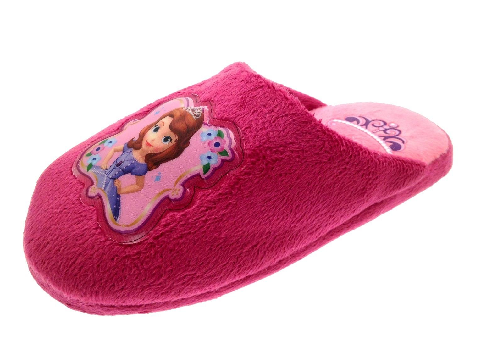 Niñas Princesa Sofia Mary Jane De Ballet Zapatillas Velcro Zapatos Confort mulas Kids