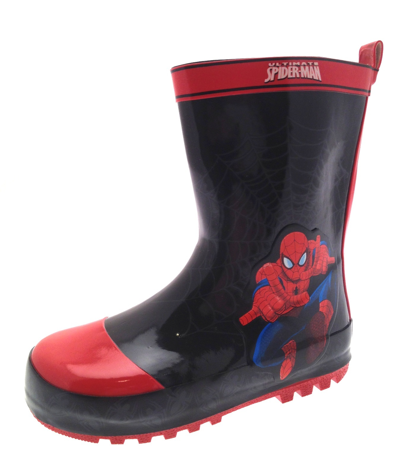 Kids Girls Boys Rubber Wellington Boots Snow Wellies ...