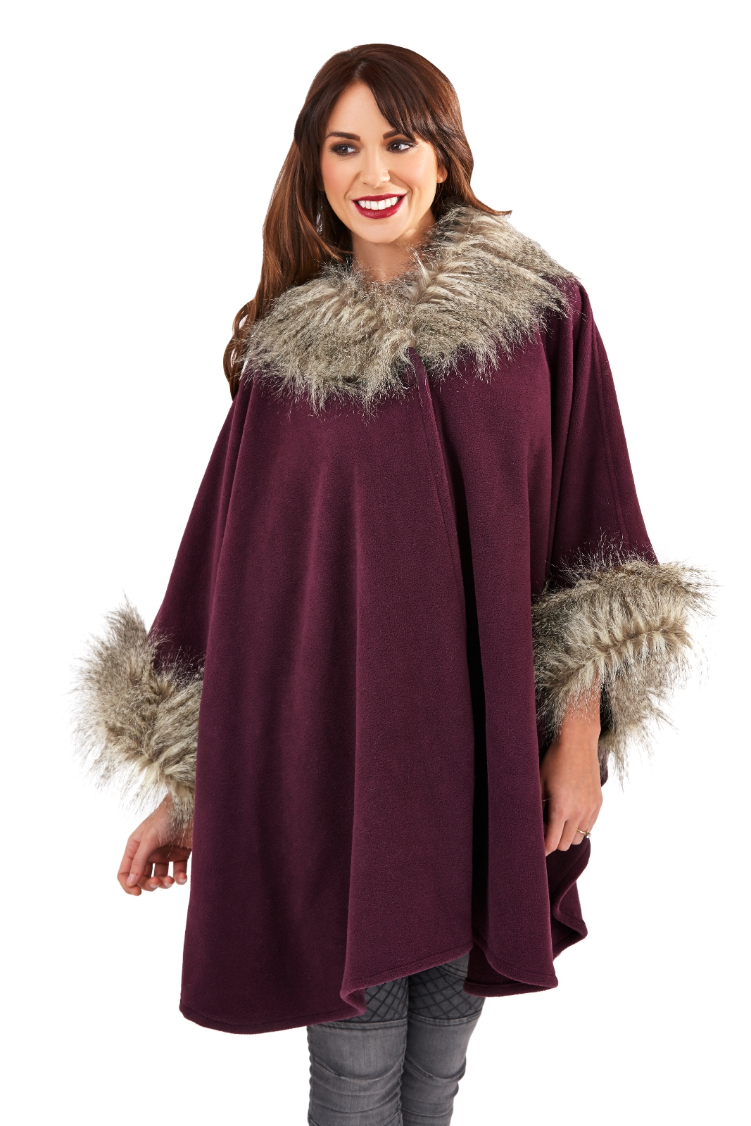 2019 year for women- Fur wraps and shawls for women