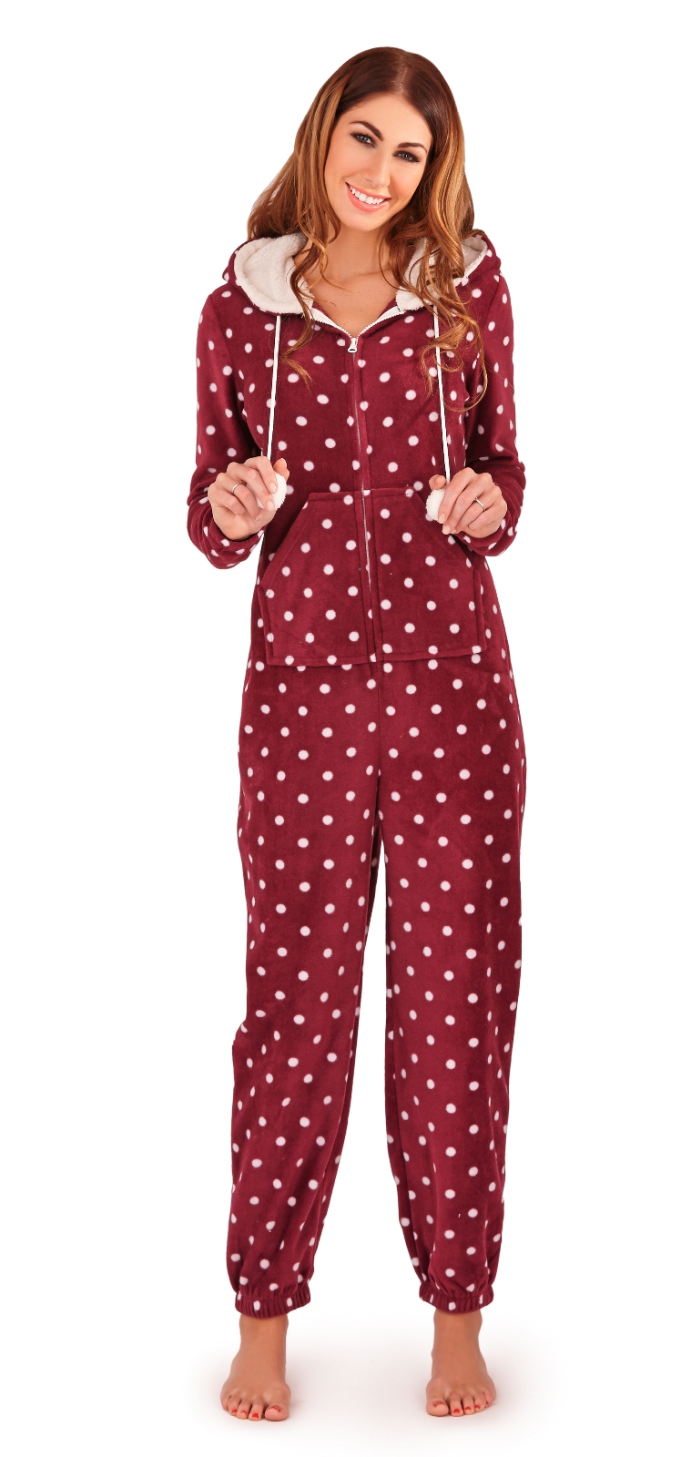 Innovative Womens Hooded Onesies All In Ones Jumpsuits Pyjamas Ladies Girls Size UK 6 - 16 | EBay