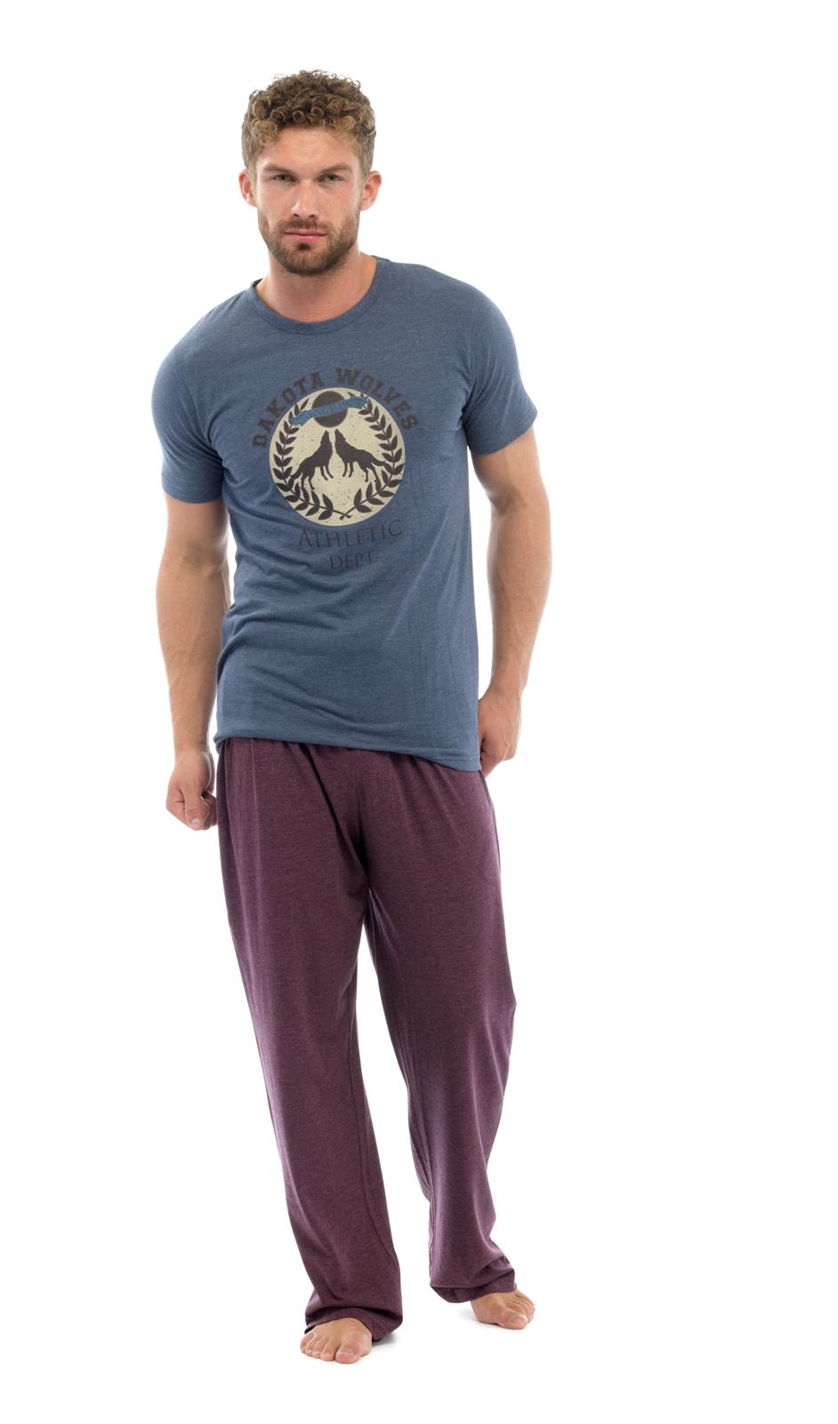 luxury mens long pyjamas 2 piece lounge set gents nightwear boys pjs size m xxl ebay. Black Bedroom Furniture Sets. Home Design Ideas