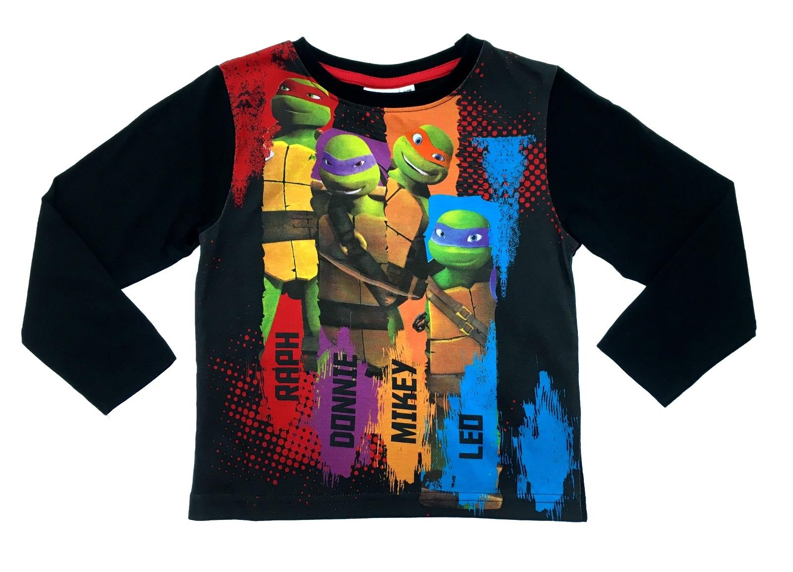 Boys Long Sleeve Teenage Mutant Ninja Turtles T Shirt Kids