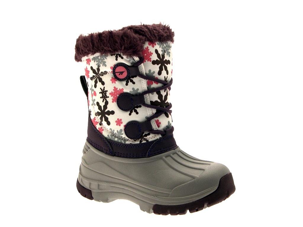 Hi Tec Kids Girls Waterproof Snow Boots Warm Winter Flat