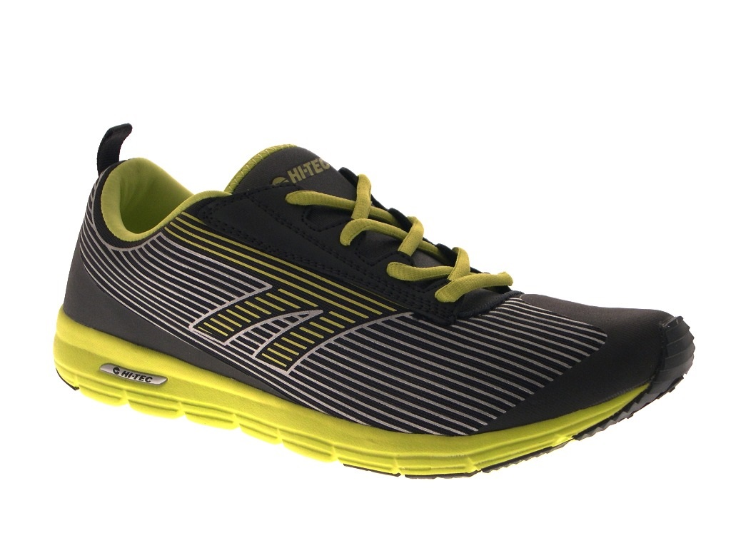 Hi Tec Mens Sports Trainers Lace Up Gym Running Shoes Casual Pumps Size UK 7-13