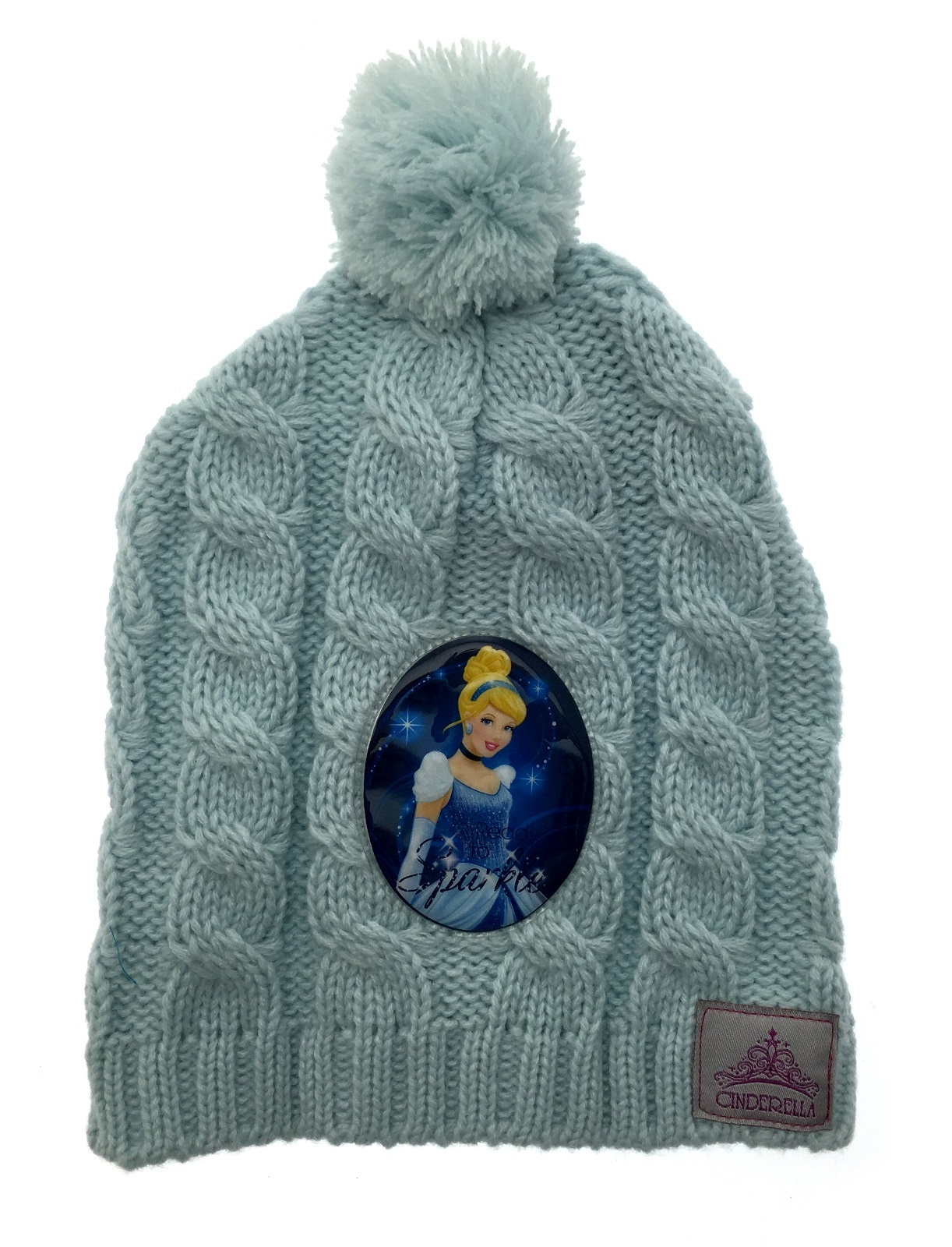 Kids Girls Character Hat Knitted Warm Winter Beanie Bobble Trapper Peruvian H...