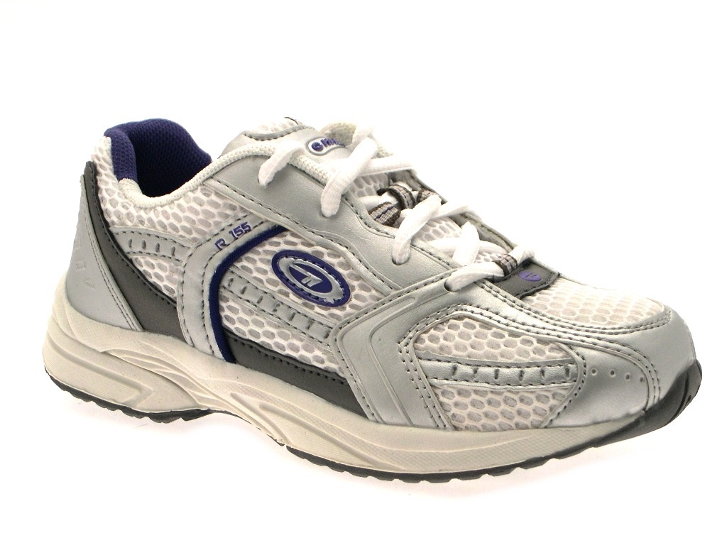 Hi Tec Kids Sports Trainers Lace Up Adjustable Shoes School Casual Size UK 13-5