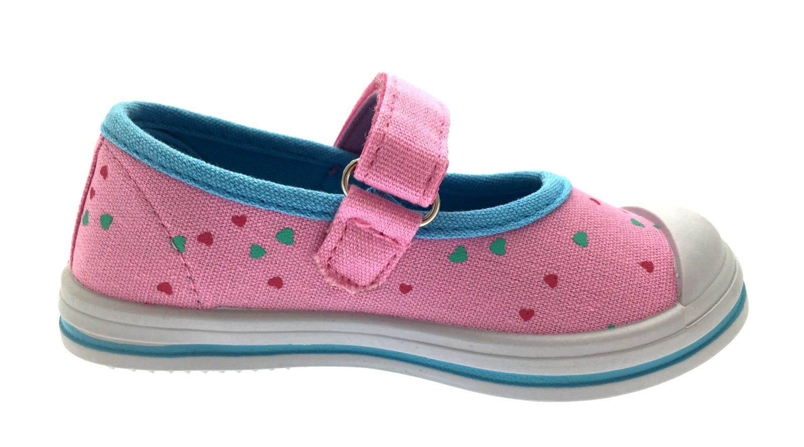 Kids Girls Peppa Pig Canvas Pumps Skate Trainers Pink Summer Shoes Size UK 4-11