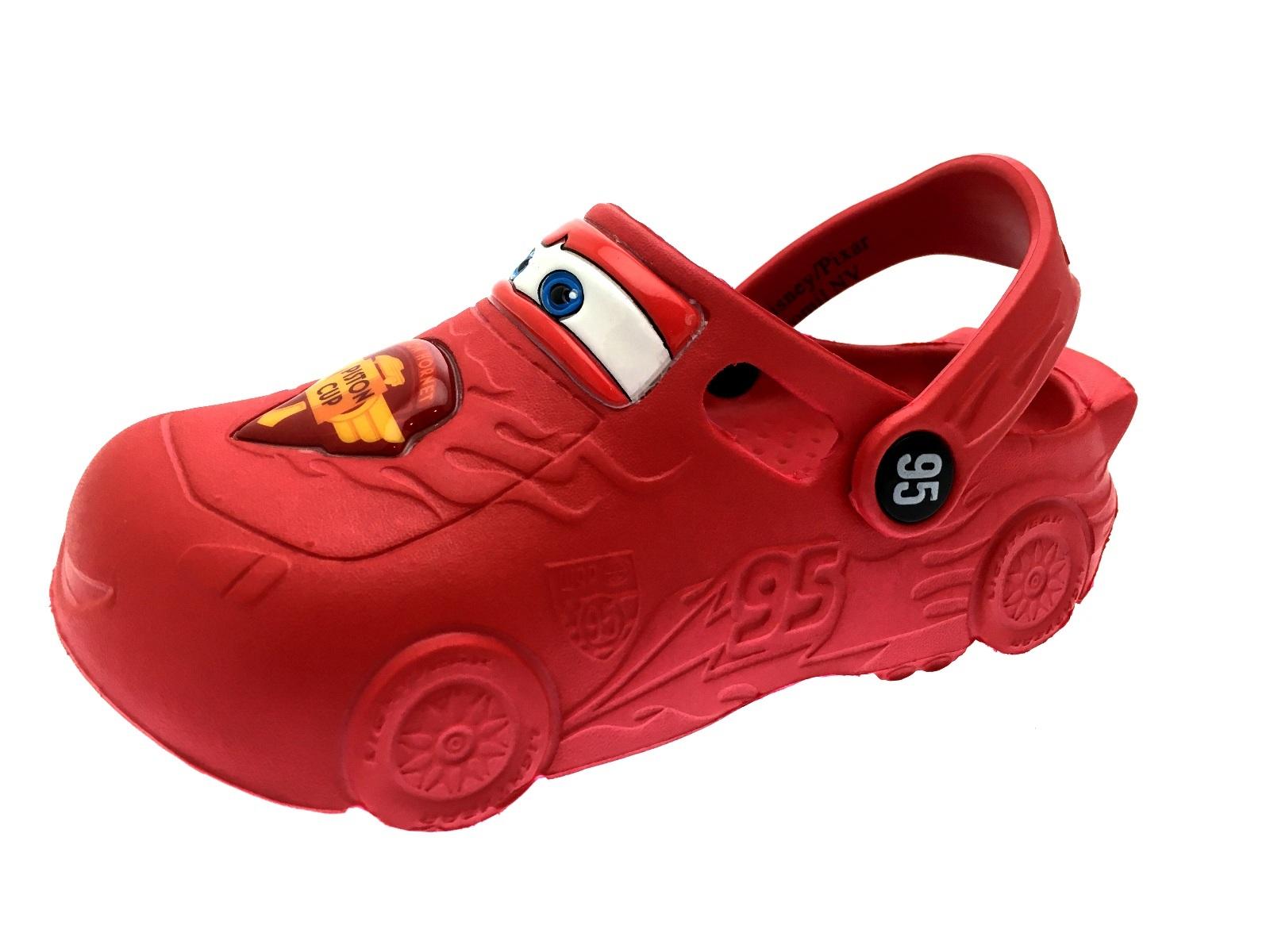 Disney Cars Lightning McQueen 3D Clogs