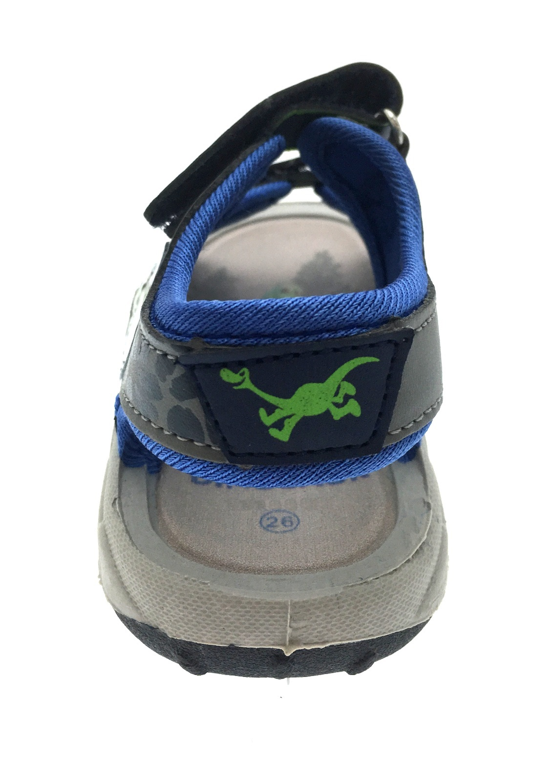 Chicos Velcro Sandalias la buena Dinosaurio que Plana Con totalmente ajustable correas