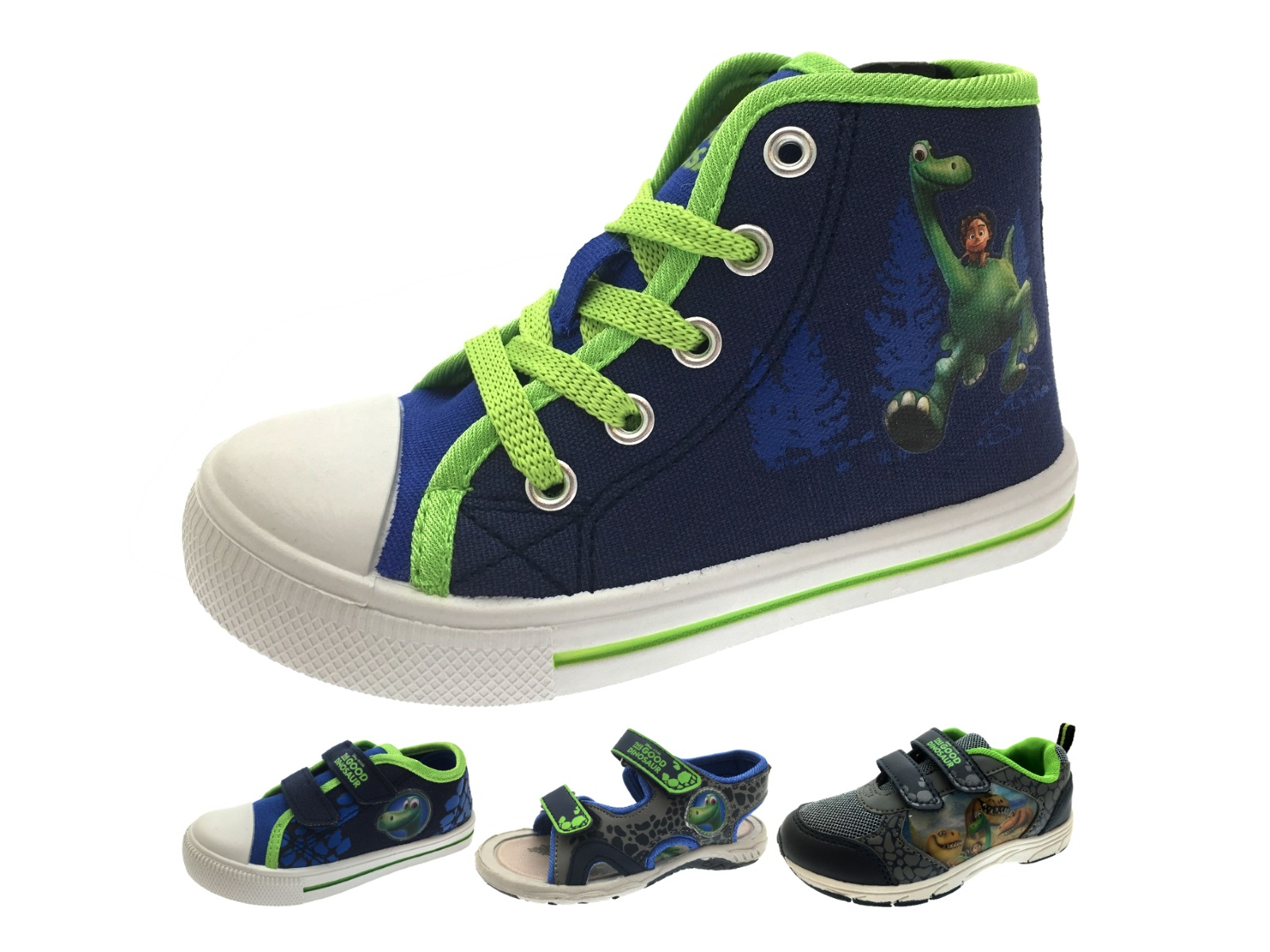 boys the dinosaur shoes hi top trainers sports