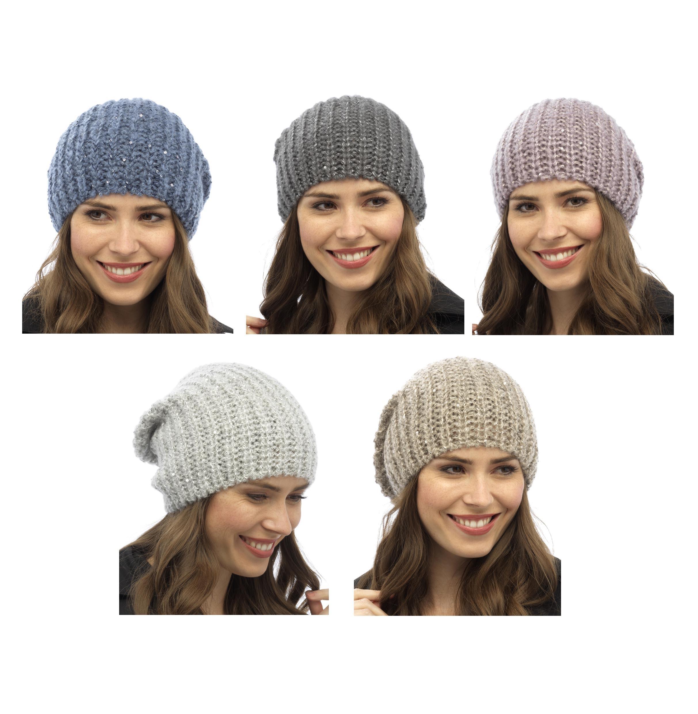 Bonnet grosse maille bonnet femme à tricoter   Zebux cd3051ee30c