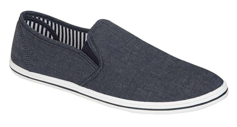 MENS-PLIMSOLES-SLIP-ON-PUMPS-TRAINERS-ESPADRILLES-SHOES-CANVAS-BOYS-SIZE-uk-7-12