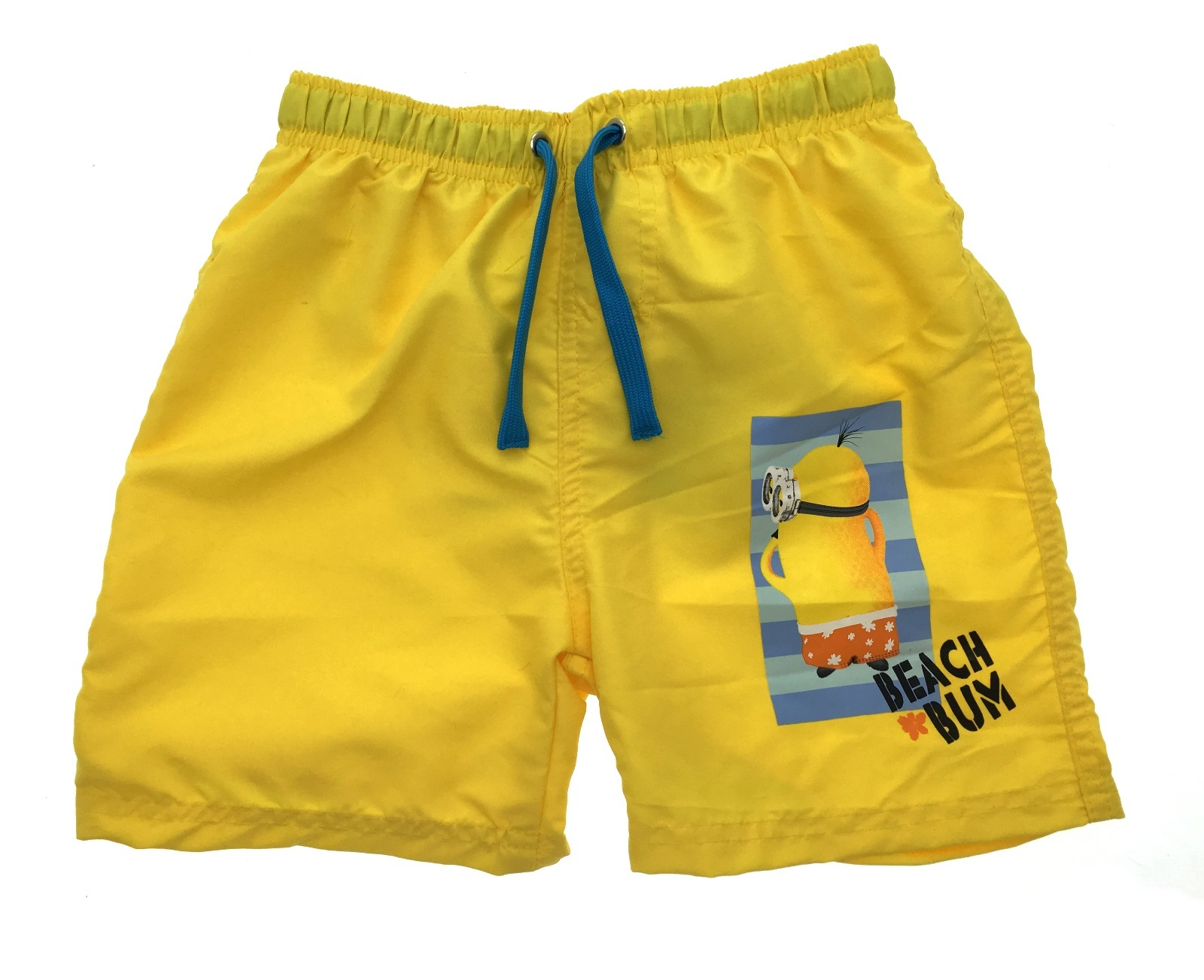 Boys Despicable Me Minions Swim Shorts With Magic Print Swimming Trunks Size