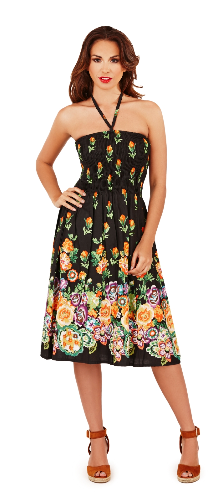 Size 8 summer dresses strapless