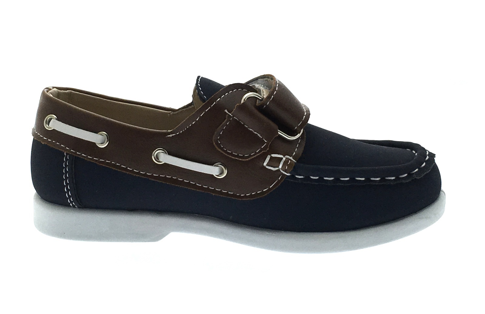 Boys Boat Deck Shoes Slip On Lace Up Loafers Casual Moccasins ...