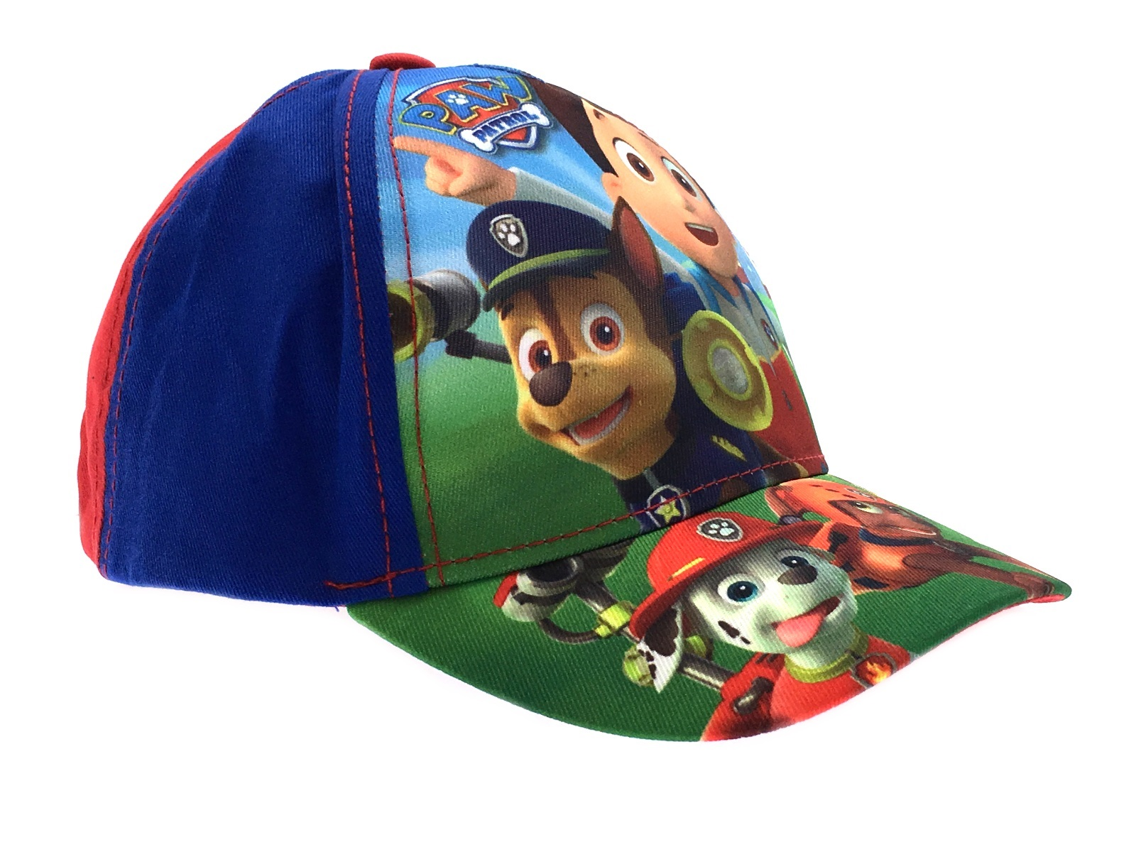 kids character baseball cap adjustable peaked summer hat
