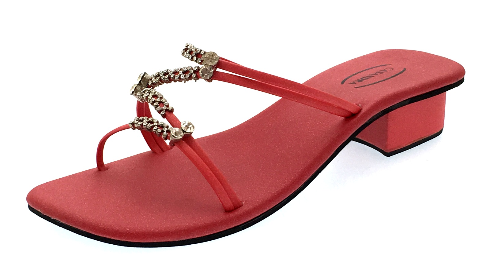 c80e20732a0d57 Womens Diamante Sandals Strappy Wedding Bridal Shoes Low Block Heels ...