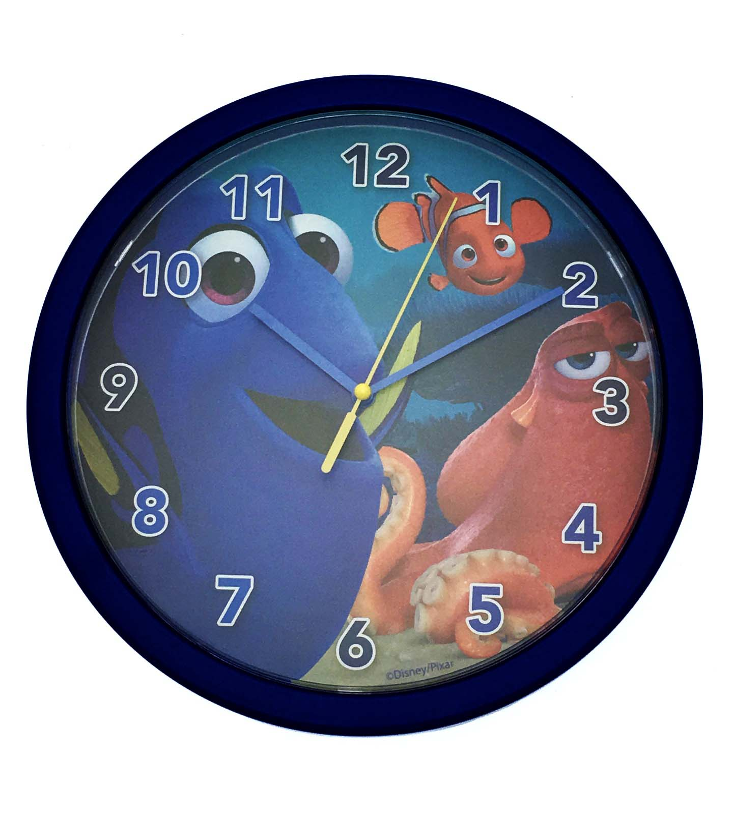Boys Girls Character Round Wall Clock Kids Bedroom