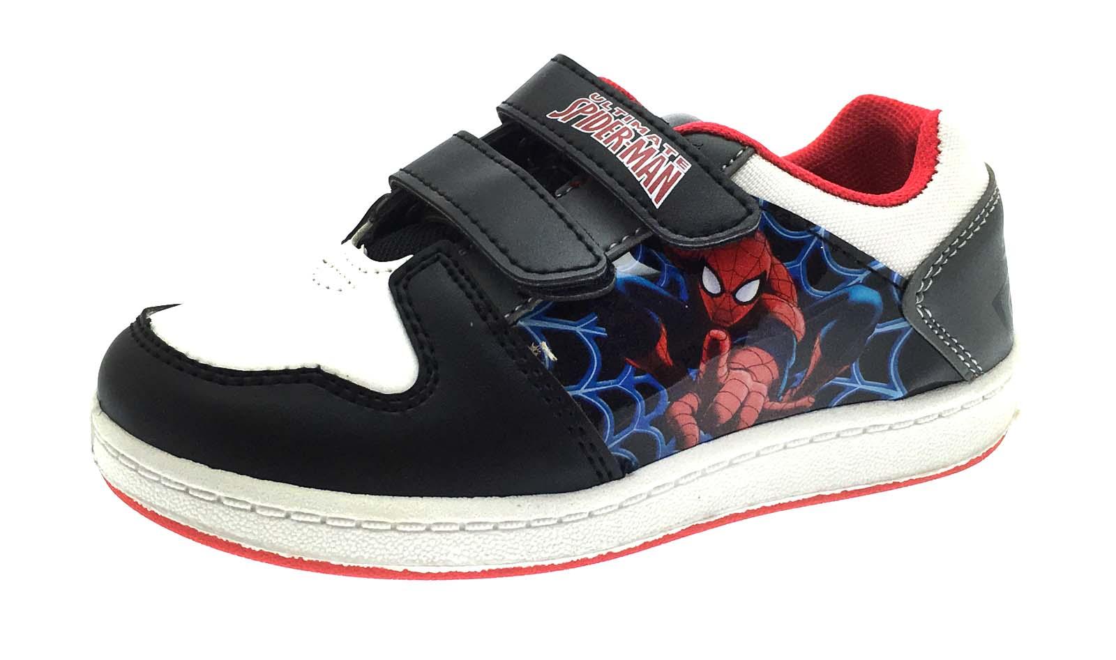 Kids Spiderman Velcro Shoes