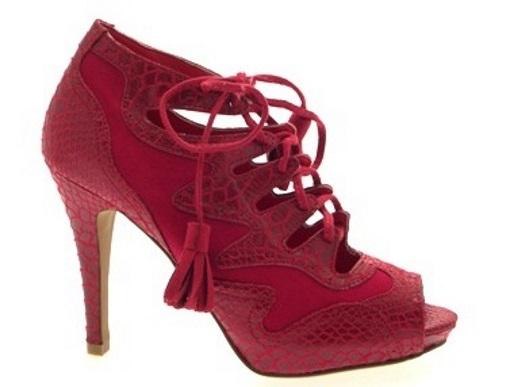 Womens High Heel Platform Sandals Sanke Skin Effect Shoes Open Toe Ladies Size