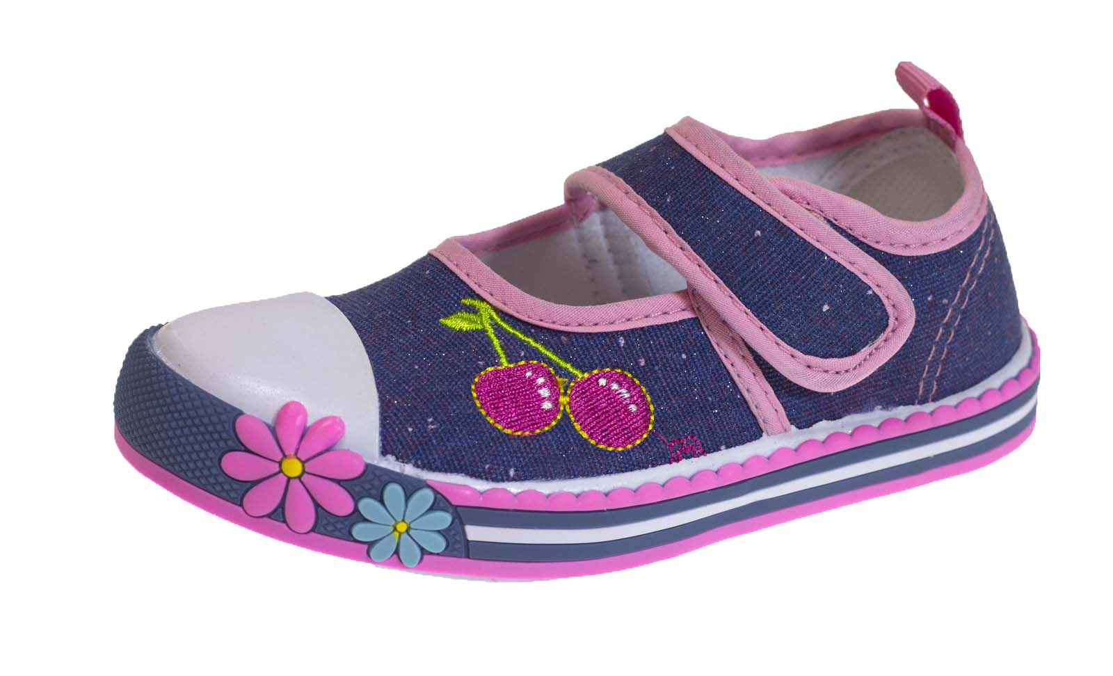 Girls Glitter Canvas Shoes Mary Jane Pumps Sequin Summer Trainers Kids Size