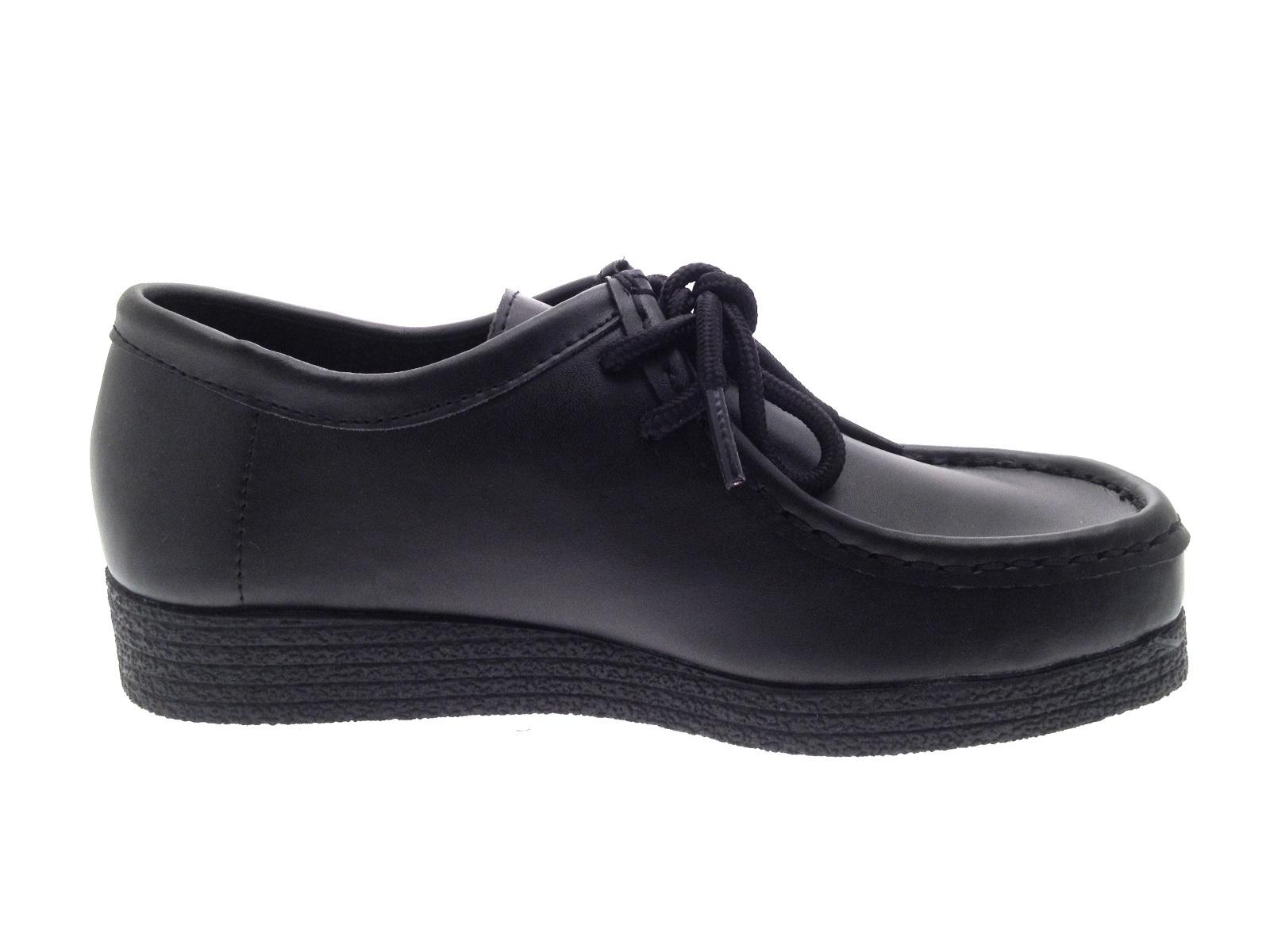 Black Brogue School Shoes