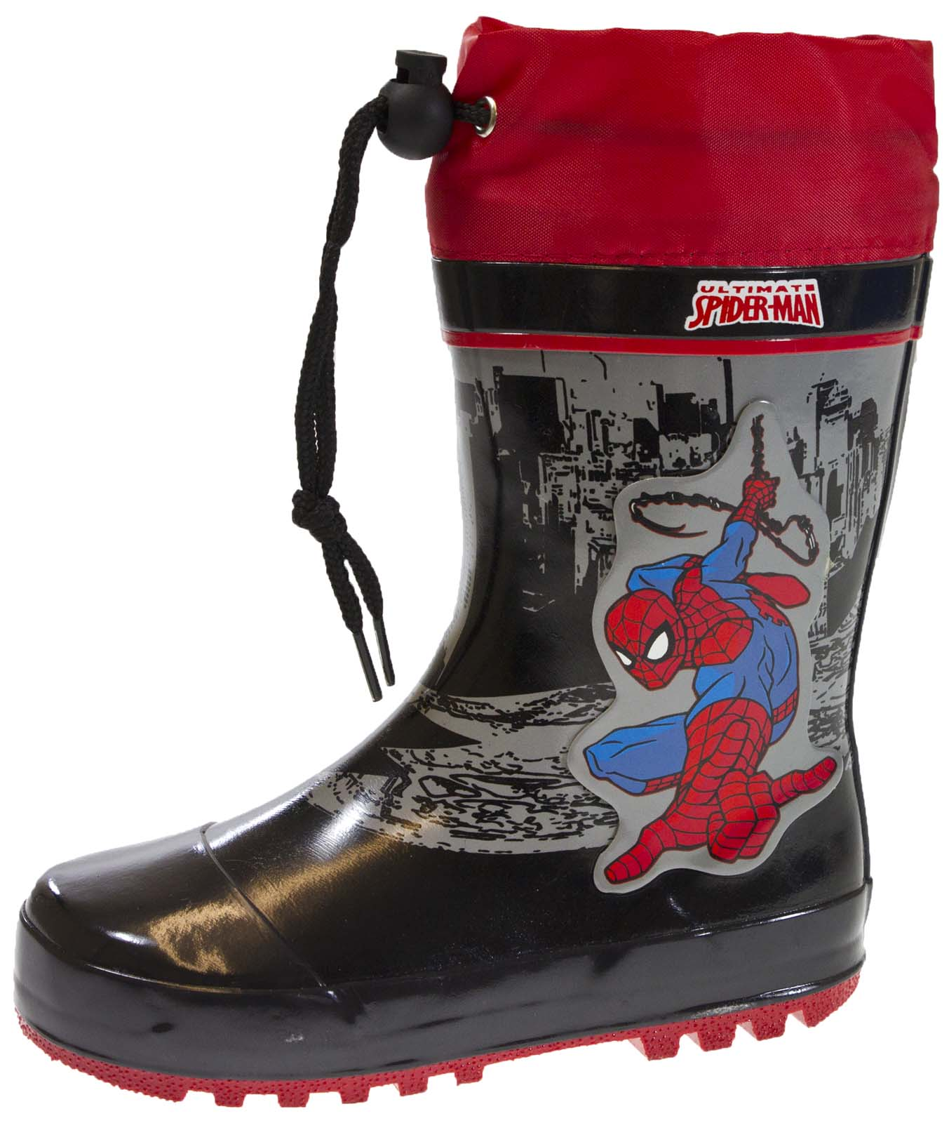 boys rubber snow boots tie top wellies
