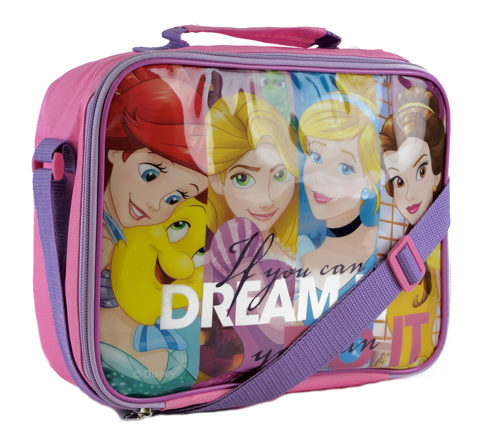Kids Character Lunch Bag Insulated Cool Snack Box School ...