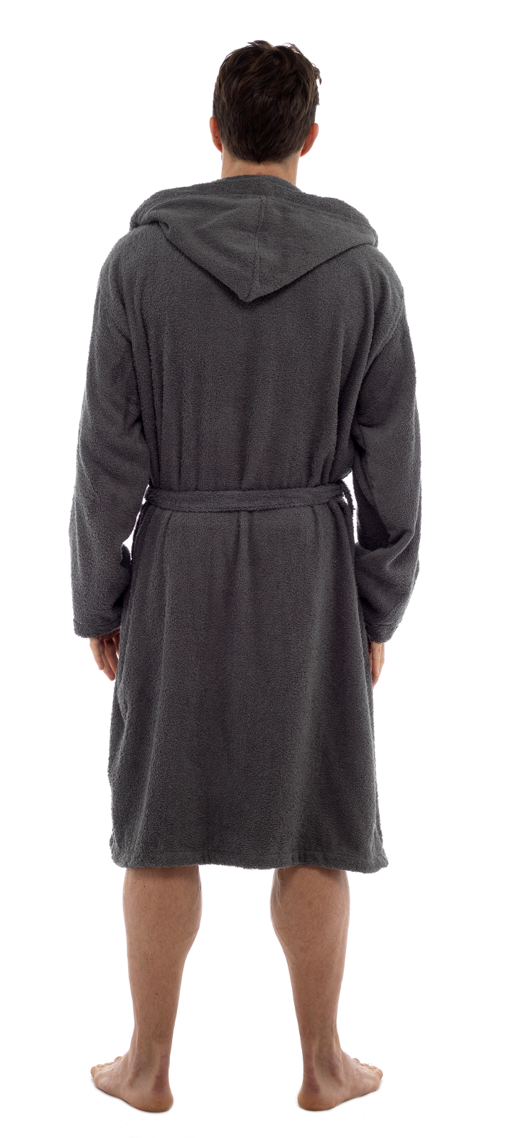 Mens Pure 100 Cotton Luxury Hooded Terry Towelling Bath