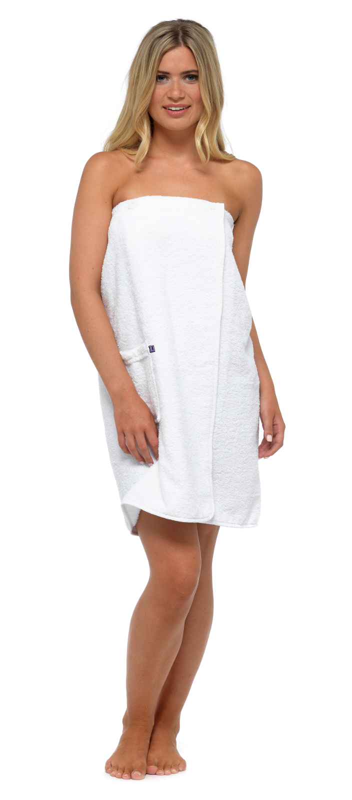 Womens Luxury Towel Wrap Toweling Bath Beach Cover Up 100