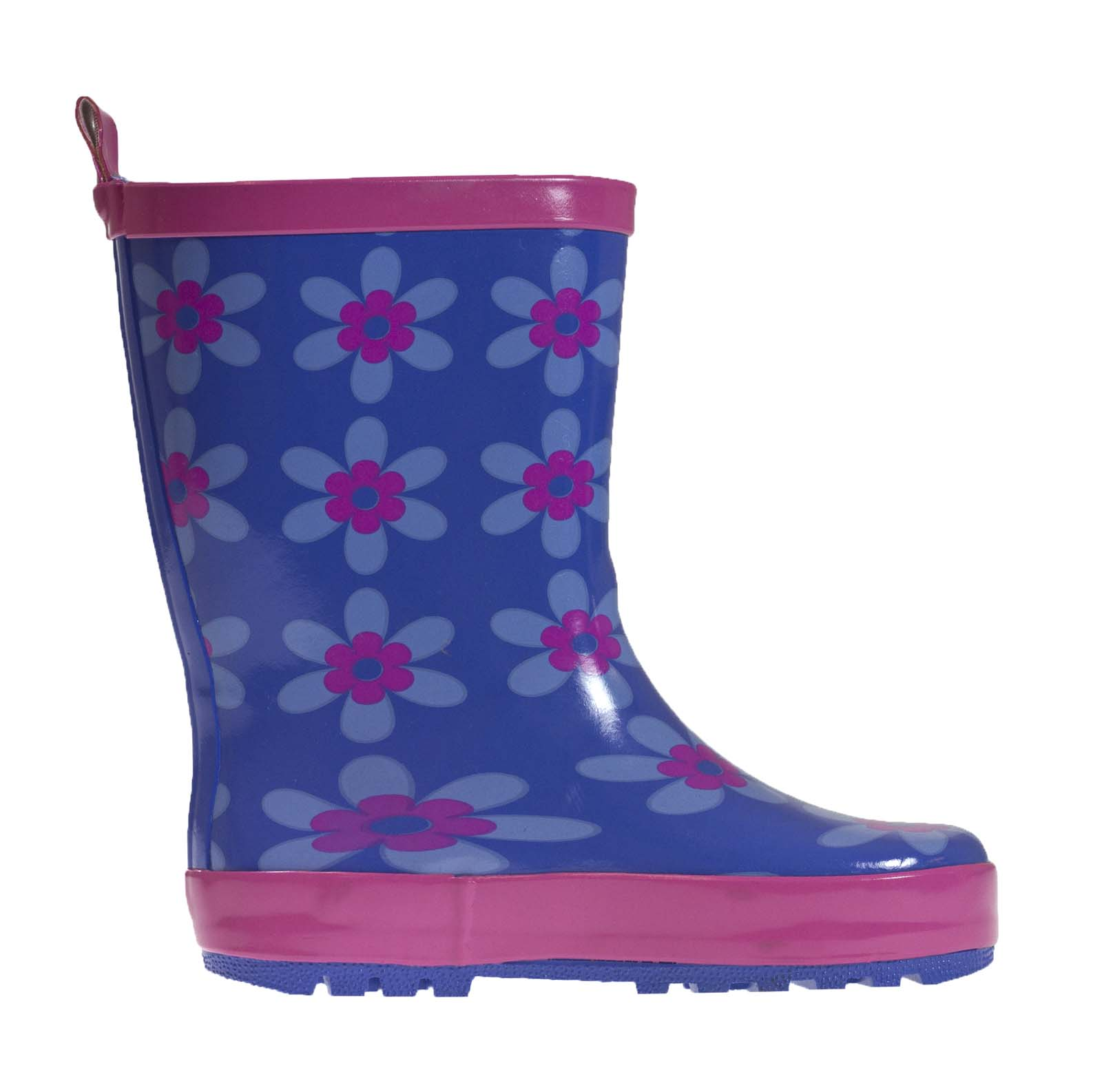 Kids Girls Wellies Wellys Wellington Rain Snow Boots ...