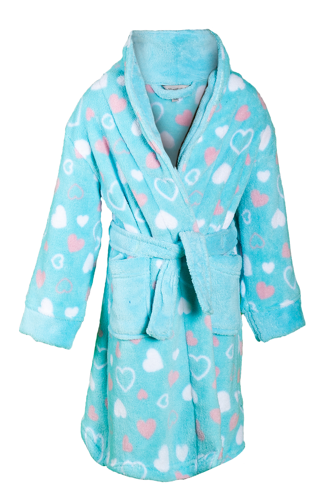 girls novelty dressing gown soft fleece bath robe. Black Bedroom Furniture Sets. Home Design Ideas