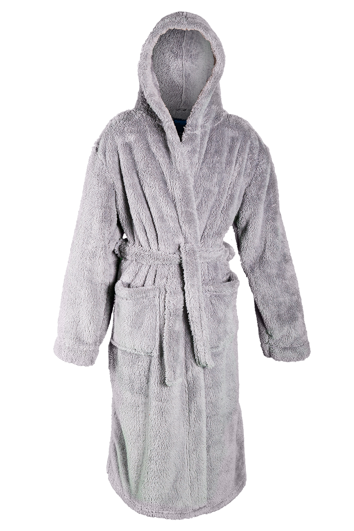 boys luxury hooded dressing gown fleece bath robe. Black Bedroom Furniture Sets. Home Design Ideas
