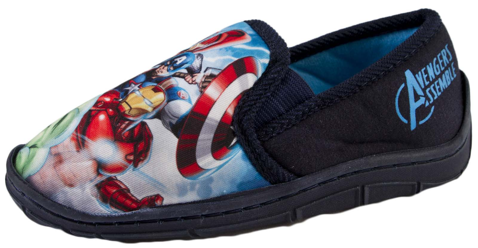 He'll enjoy taking to the water in these Marvel water shoes. Sponsored Links Outside companies pay to advertise via these links when specific phrases and words are searched.