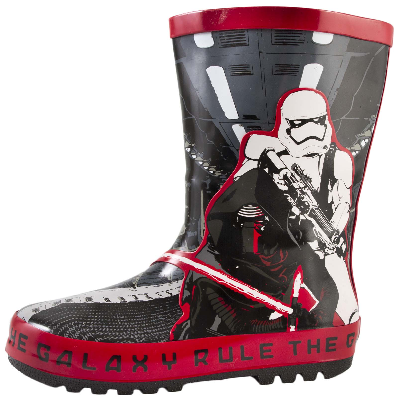 Star Wars Wellington Boots Boys Darth Vader Wellies Rubber Snow ...