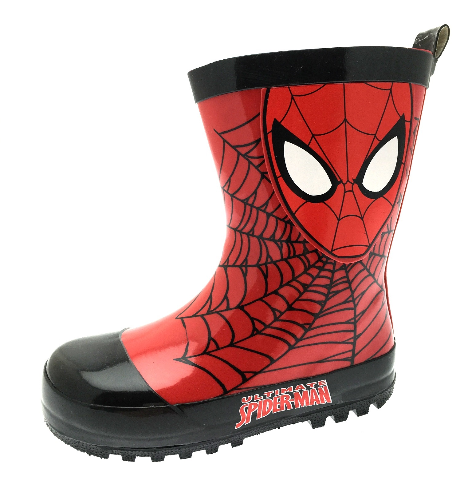 Spiderman Wellington Boots Boys Marvel Superhero Wellies