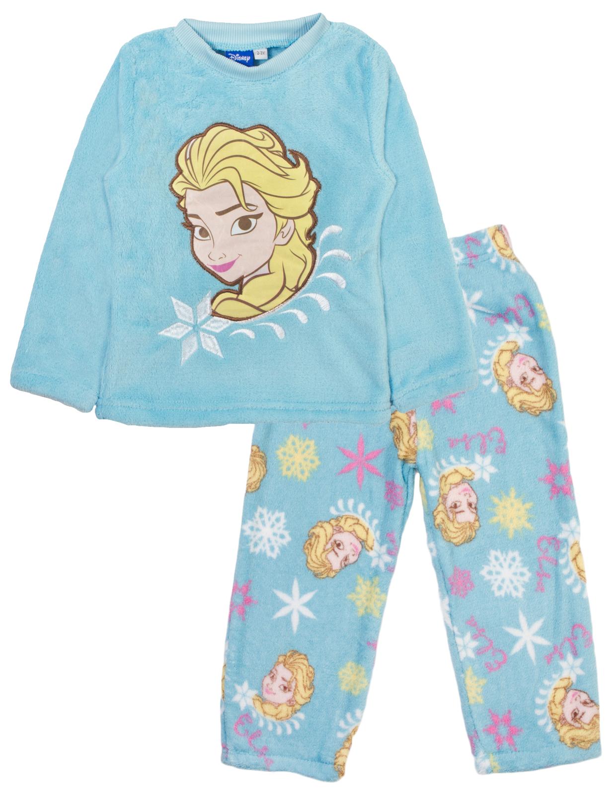 28a98a1ad Girls Boys Minions Peppa Pig Frozen Fleece Pyjamas Twosie Pjs Lounge ...