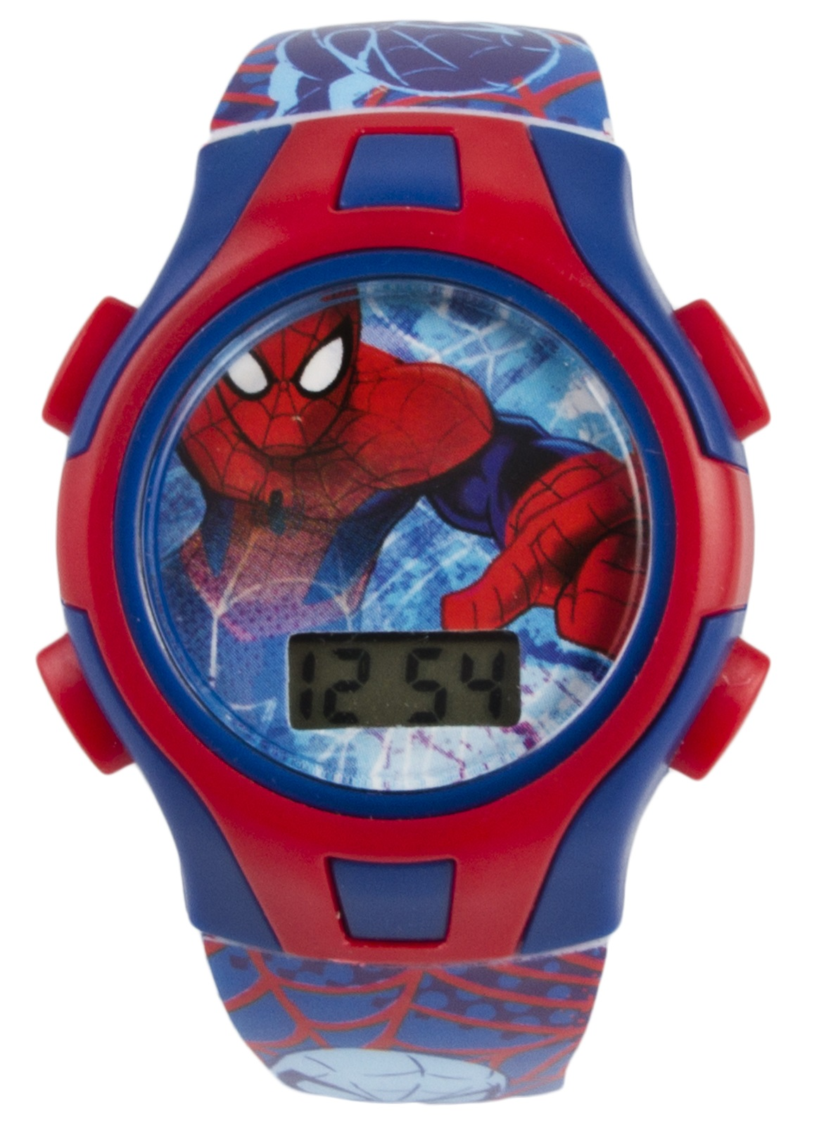 Kids character digital wrist watch presentation tin xmas gift boys girls ebay for Spiderman watches