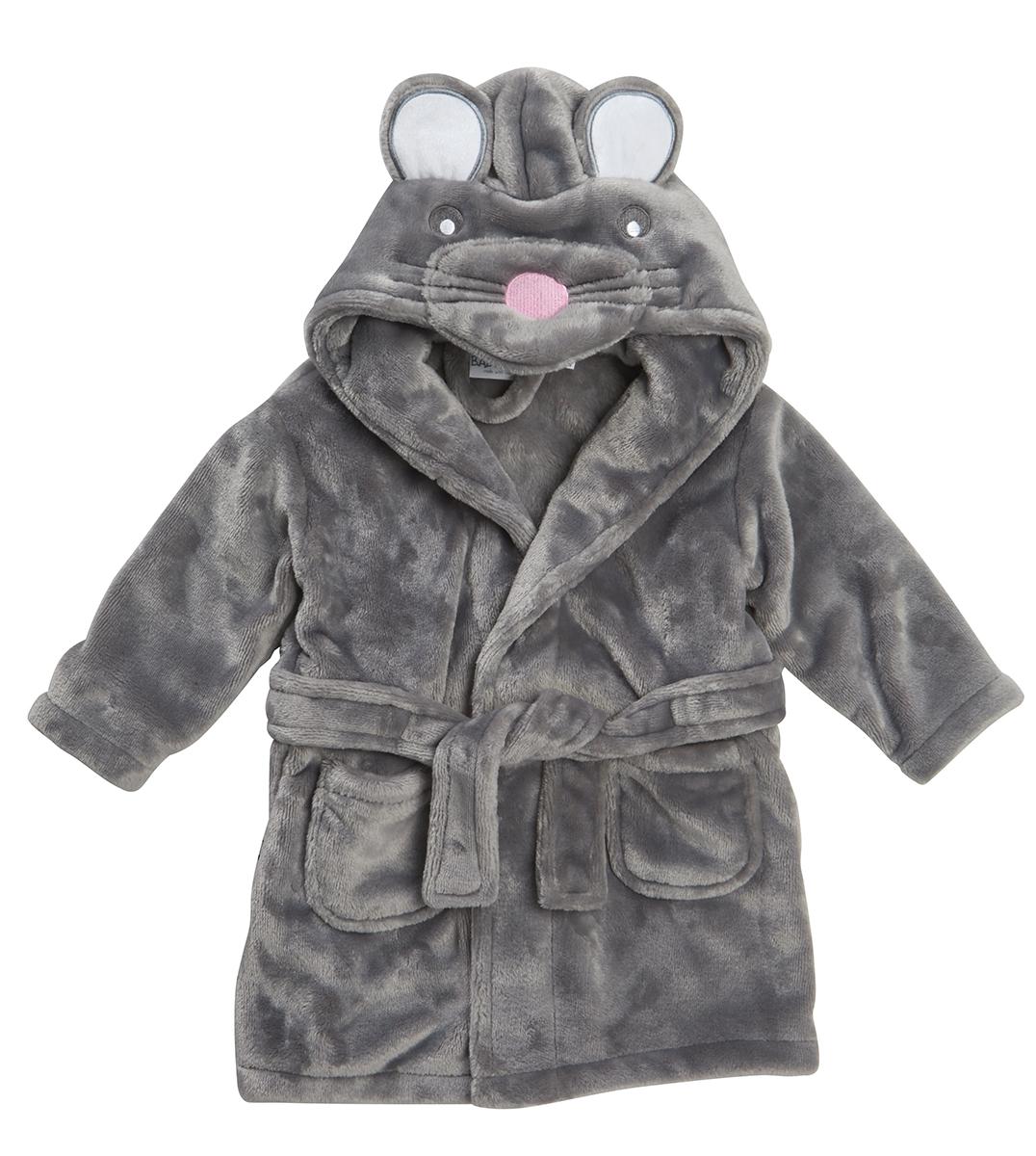 Baby Girls Boys Novelty 3d Hooded Animal Dressing Gown