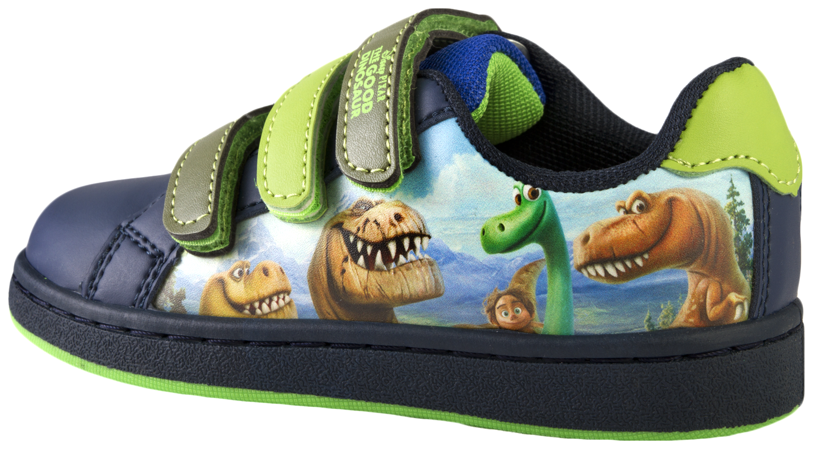 boys the dinosaur trainers adjustable straps casual
