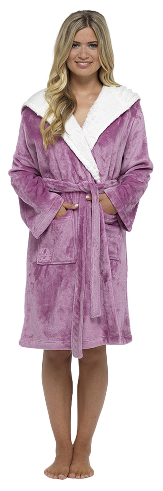 Women's Hooded Dressing Gowns