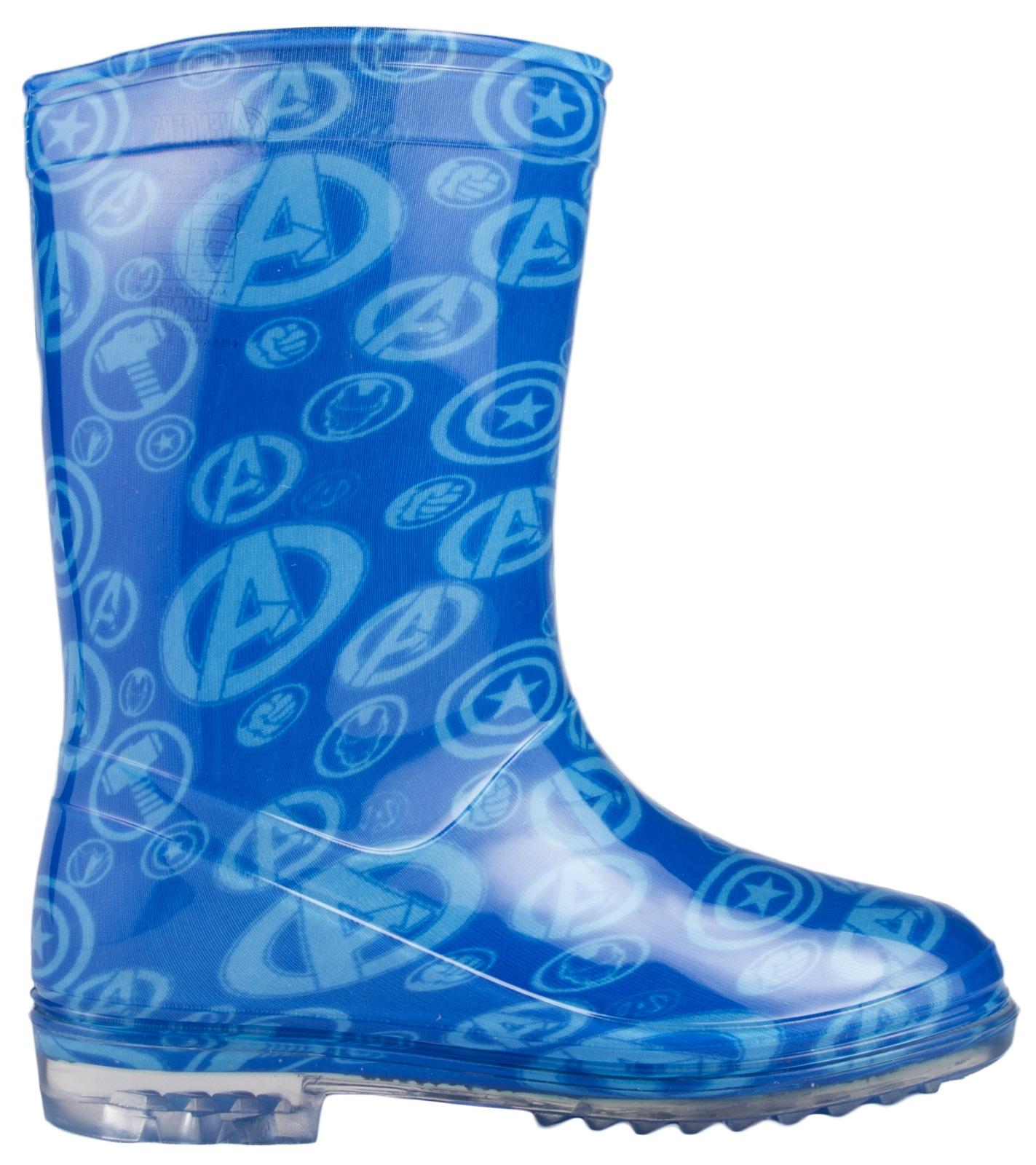 boys marvel wellington boots snow wellies