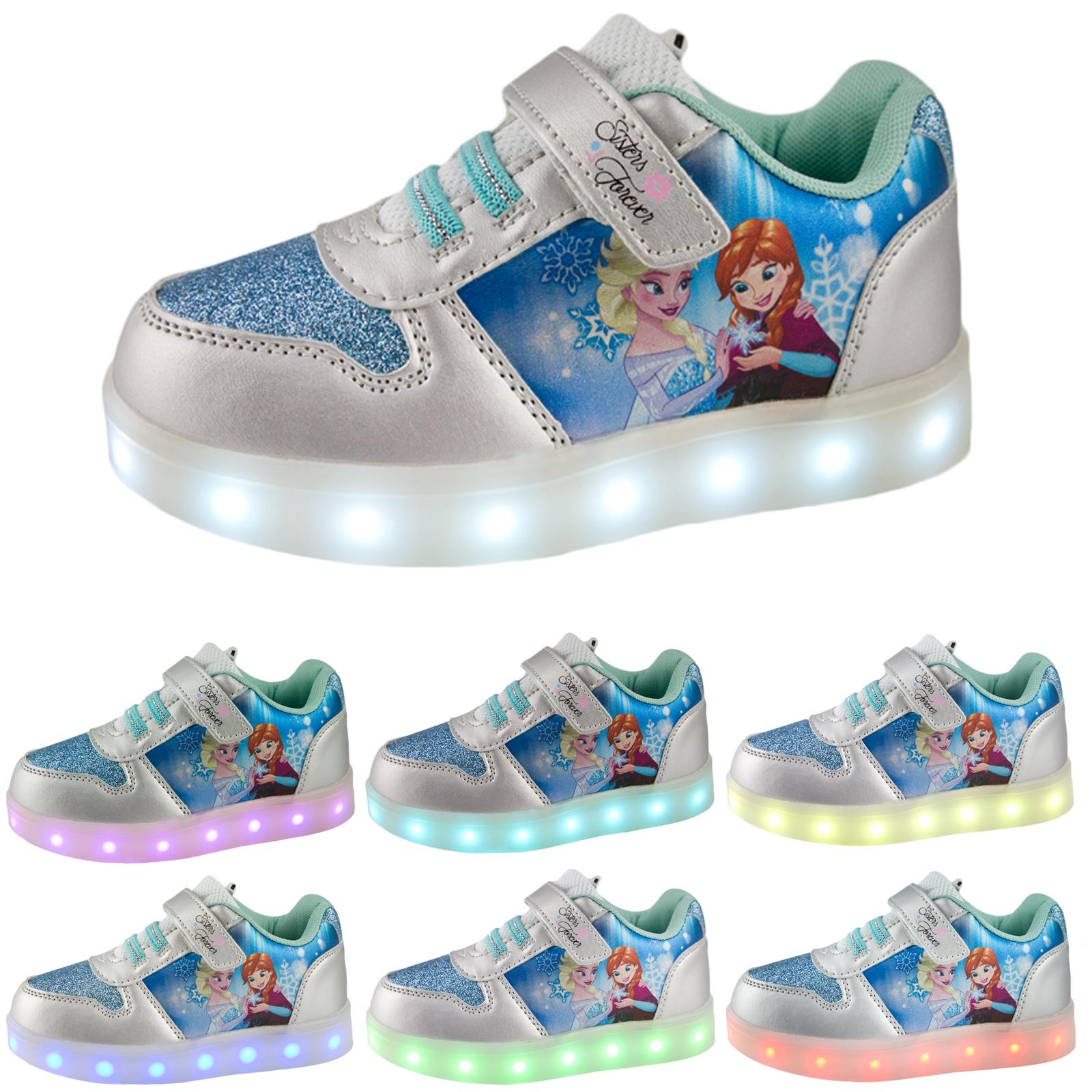 Frozen Elsa Light Up Shoes Uk