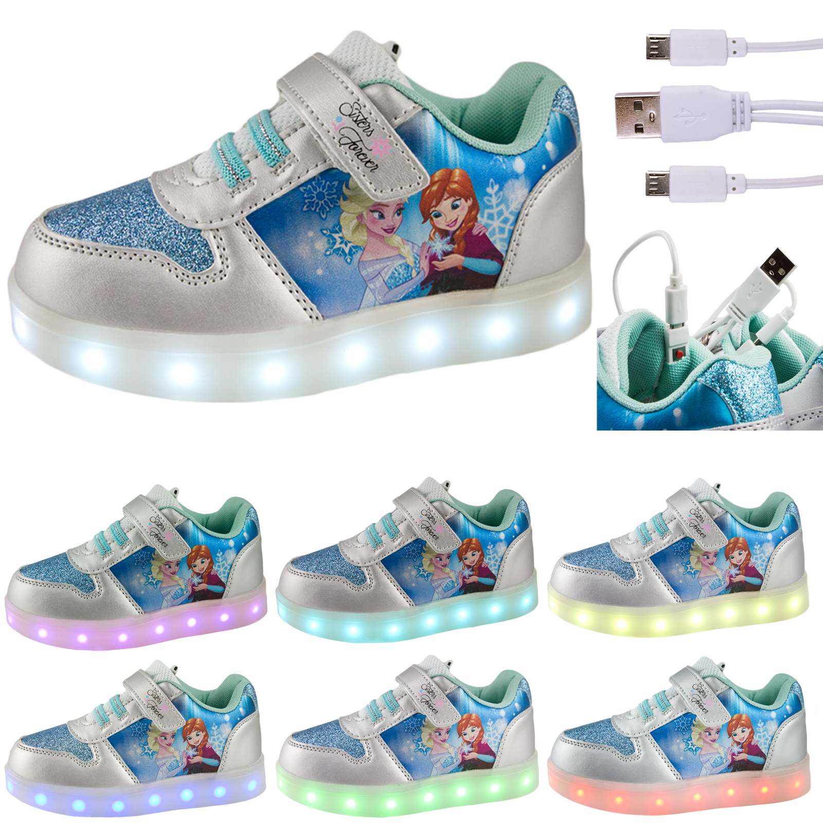 Elsa Light Up Shoes Uk
