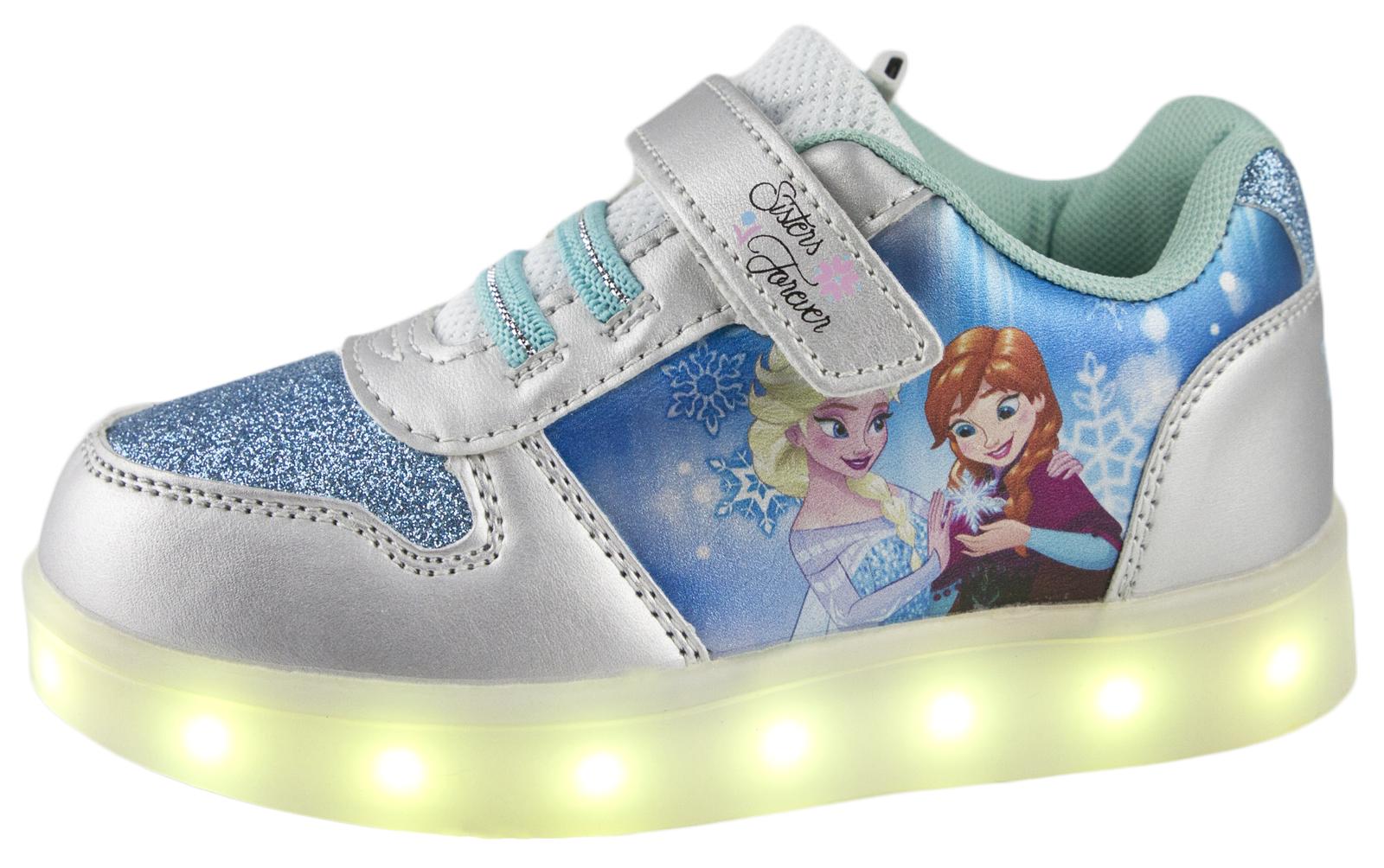 Elsa Light Up Shoes Size