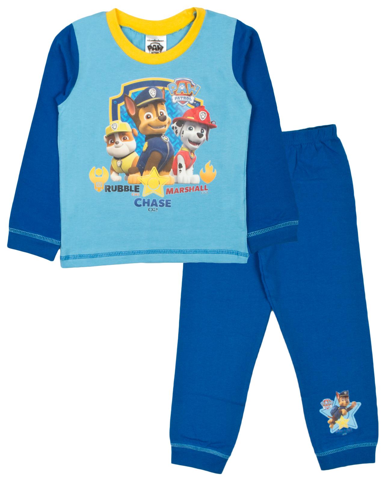 Kids Boys Girls Nickelodeon Paw Patrol Pyjamas 2 Piece Longs Pjs ...